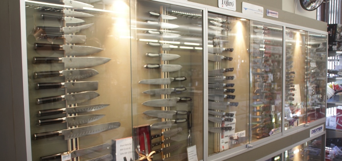 We Have an Impressive Collection of Kitchen Knives